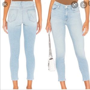 MOTHER Jeans - Mother the looker crop NWT